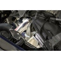 2011-2015 Dodge 392 HEMI Motor - Polished Engine Harness Cover with Perforated Trim