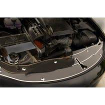 2015-2016 Dodge Charger Carbon Fiber Front Header Plate 2 Pc Kit