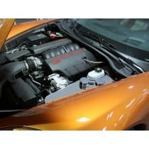 C6 Corvette Water Tank Cover Polished w/caps - C6 Auto