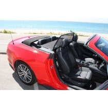 2015-2017 Ford Mustang Convertible Love The Drive Wind Deflector