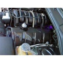 Dodge Challenger Carbon Fiber Engine Rail Covers