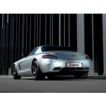 Mercedes Benz SLS AMG Akrapovic Exhaust Kit