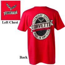 C7 Corvette Labeled T-Shirt