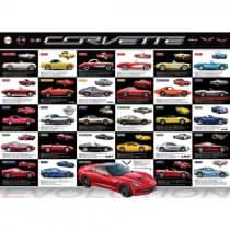 Corvette Evolution Puzzle