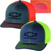 Chevrolet Bowtie Neon Snapback Hat