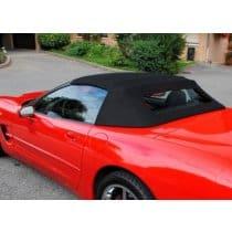 1997-2004 C5 Corvette Convertible Top in Black Original Twillfast