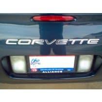 Corvette C5 Bumper Letters