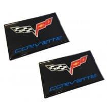 C6 Corvette Domed Visor Overlay Decals Many Styles