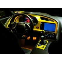C7 Corvette Stingray  Painted Dash Cluster