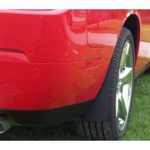Dodge Challenger Stealth No Drill Splash Guards Kit