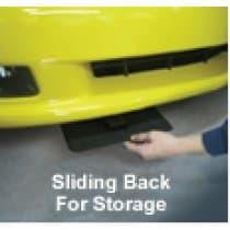 Corvette C5 Front License Plate Show n Go