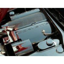 Corvette C5 Polished Stainless Fuel Rail Covers