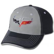 C6 Corvette 60th Anniversary Two-Tone Hat