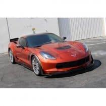 C7 Corvette Carbon Fiber APR Front Bumper Canards Spats Z51
