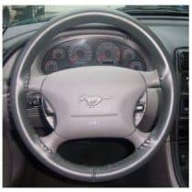 2015-2017 Mustang Wheelskins Steering Wheel Wrap