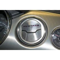 2015-2017 Mustang - A/C Vent (3) Trim Kit with MUSTANG Inlay