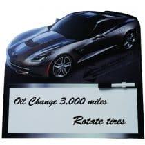 C7 Corvette Dry Erase Board