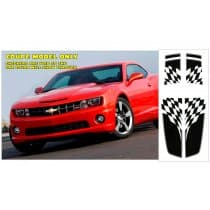 2010-2013-13 Camaro Dual Rally Over Car Flag Stripe Kit Coupe