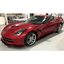 "C7 Corvette Side Skirts Z06 Style ""Signature Series"" Striped"
