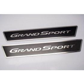 C6 Corvette Grand Sport Carbon Fiber Door Sill Plates
