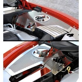 2010-2013-2011 Camaro Stainless Steel Inner Fender and Fuse Box cover