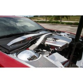 2012-2015 Camaro ZL1 Stainless Steel Engine Shroud