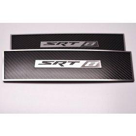 Dodge Challenger SRT Door Badges in Carbon Fiber