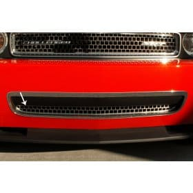 2008-2010 Dodge Challenger Stainless Steel Lower Grille Overlay