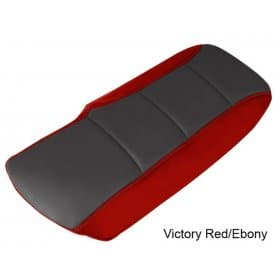C6 Corvette  Color Matched Console Cover Cushion Two-Tone