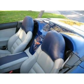 C6 Corvette Speed Lingerie Head Rest Cover