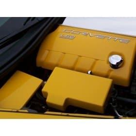 C6 Corvette  Painted Fuse Box Cover