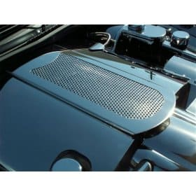 C6 Corvette  Polished Perforated Stainless Steel Plenum Cover