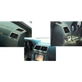 2008-2014 Dodge Challenger 5 Piece Stainless AC Vent Trim