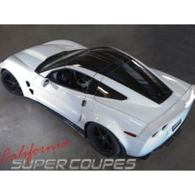 C6 Corvette  Halo and Window Rails