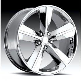 Dodge Challenger Chrome Alloy Wheels