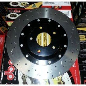 C6 Corvette  Z51 DBA 5000 Series Front Brake Rotors