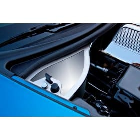 C6 Corvette Dry Sump Oil Tank Cover Polished 2006-2013 Z06+GS on