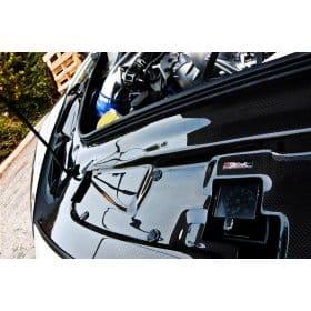 Nissan GT-R R35 Carbon Fiber Radiator Cooling Plate
