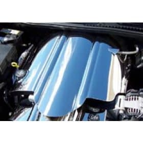 C6 Polished Stainless Steel Full Engine Shroud