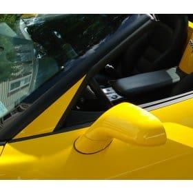 C6 Corvette Painted A-Pillar Trim