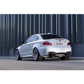 BMW 1M Titanium Slip-on Akrapovic Exhaust