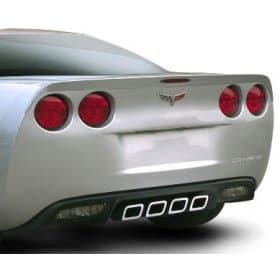 C6 Corvette Painted SLP Rear Spoiler