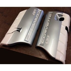 C6 427 60th Anniversary Painted Fuel Rail Covers LS3 LS7
