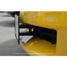 C6 Corvette  Front License Plate Removable