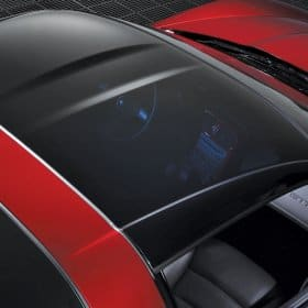 C6 Corvette Transparent Replacement Roof (New)