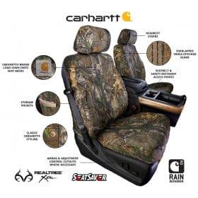 Covercraft Carhartt Real Tree Camo Seat Covers