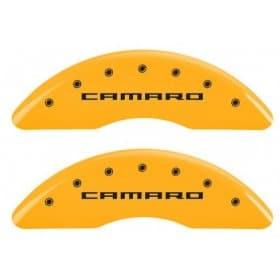2012-2015 Camaro Caliper Covers Yellow w/RS or Camaro Logo