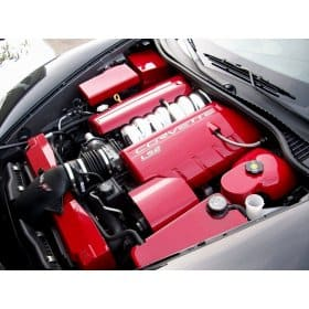 C6 Corvette Painted Complete Engine Covers Kit