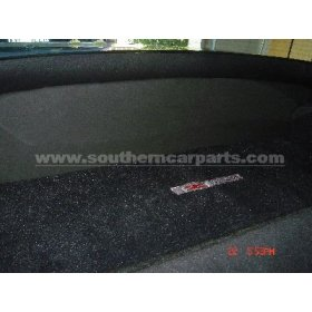Corvette C5 front cargo mat, rear cargo mat, and compartment cov