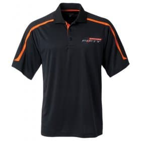 2016-2017 Camaro FIFTY Black Men's Polo Shirt